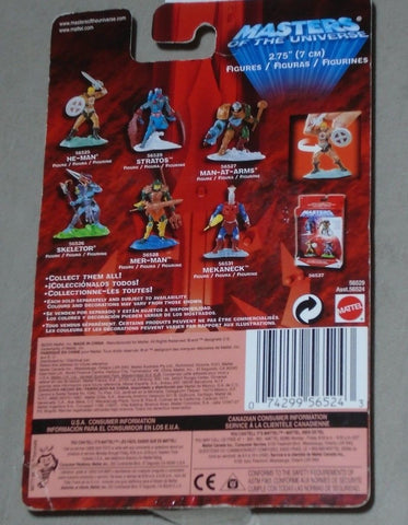 2002 Masters of the Universe MOTU Stratos Mini Figure MOC Sealed Carded FREESHIP