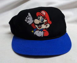 1985 Retro Nintendo NES Super Mario Bros Flat Brim Snap Back Hat Cap FREESHIP