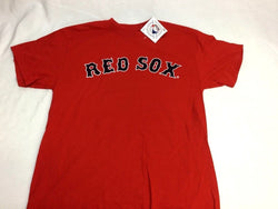 NEW Official Boston Red Sox Basic RED Team Logo T Shirt Mens Medium FREESHIP