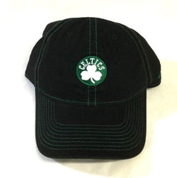 NEW Boston Celtics Adidas Cotton Black Color Adjustable Size Hat Cap Relax Fit