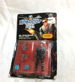 Kenner 1989 Robocop and the Ultra Police Dr McNamara Figure MOC Carded FREESHIP