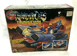 1985 LJN Toys Thundercats Thundertank Complete Working Boxed Instructions RARE