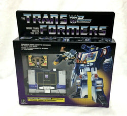 New G1 Transformers Soundwave Walmart Exclusive Reissue Sealed Boxed FREESHIP