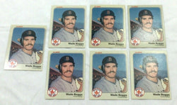 1983 Fleer #179 Boston Red Sox Wade Boggs Rookie Rc Card 7 Lot FREESHIP