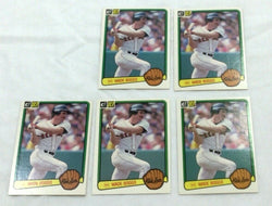1983 Donruss #586 Boston Red Sox Wade Boggs Rookie Rc Card 5 Lot FREESHIP