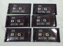 2019 2020 Parkside Big3 Basketball Pack Lot 6 Sealed Relics Autographs FREESHIP