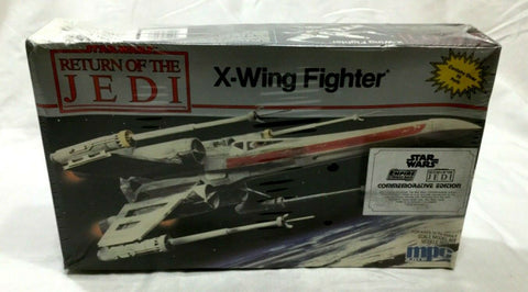 1989 MPC Star Wars ROTJ Return of Jedi X-Wing Fighter Plastic Model Kit Sealed