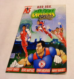 2003 Green Monster Nomar Garciaparra Pedro Martinez Comic Book Fenway Park Issue