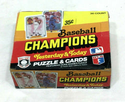 Vintage 1984 Donruss Baseball Champions Cello Box Sealed 36 Pack Display Retail