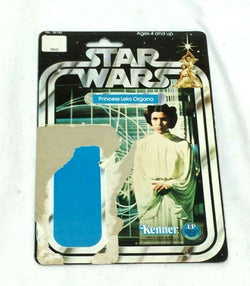 1978 Star Wars Princess Leia Organa White Gown Complete 12 Cardback RARE Uncut