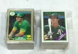 1987 Topps Baseball Jose Canseco Allstar Rookie Rc Card 1988 Lot 200 Pieces