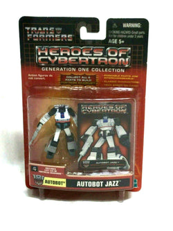 2003 Transformers HOC Heroes of Cybertron Autobot Jazz Sealed MOC Carded FREESHP