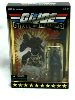 2008 GI Joe Hall of Heroes 25th Anniversary Snake Eyes Timber Wolf Boxed Sealed