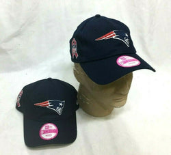 NFL New England Patriots Ladies Womens Girls Hat Cap New Era 9Forty Pink Ribbon