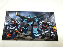 G1 Transformers Autobots Protectobots Defensor Team Poster Picture 11x17 FREESHP