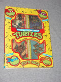 1989 TMNT Teenage Mutant Ninja Turtles Topps Card Set Stickers Complete Boxed