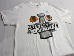 2013 Stanley Cup Finals Chicago Blackhawks Boston Bruins Duel T Shirt Medium