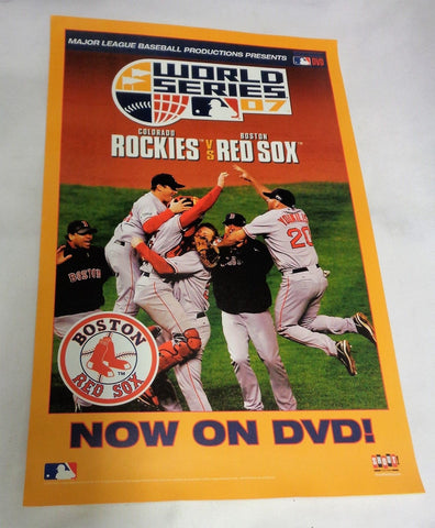 2007 World Series Champions Boston Red Sox DVD Release Movie Poster Picture