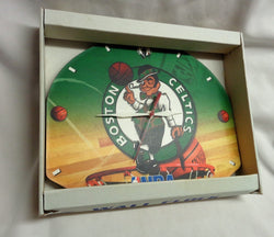 NEW Official NBA Boston Celtics Backboard Wall Clock Locker Room Type FREESHIP