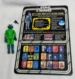Vintage 1979 Star Wars Greedo Figure Complete 20 Back CardBack Fett Offer