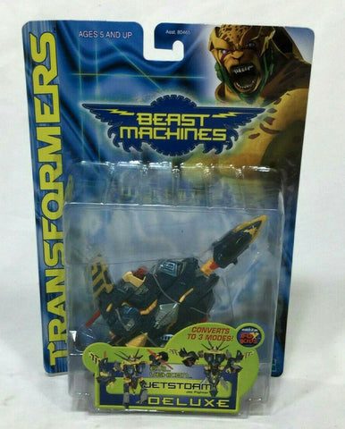 NEW Transformers Beast Machines Jetstorm Deluxe Class MIB Sealed Carded FREESHIP