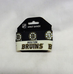 NHL Boston Bruins 2 Pack Bracelet Wrist Bands Set Rubber PVC Type FREESHIP