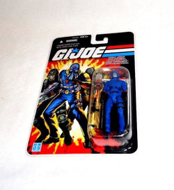 2007 Hasbro GI Joe 25th Anniversary French Canadian Cobra Commander Figure MOC