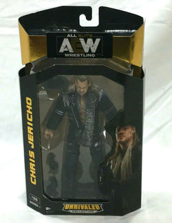 AEW All Elite Wrestling Unrivaled Series Chris Jericho Figure New Boxed FREESHIP