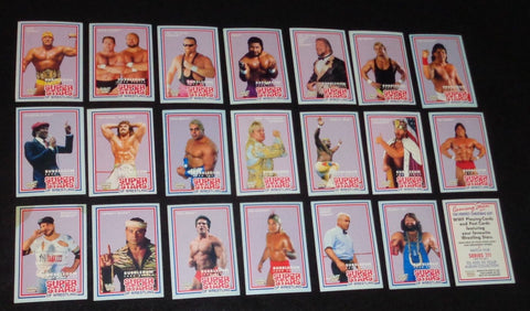 WWF Wrestling Series 2 Card Set 1989 Market Scene New Zealand Import FREESHIP