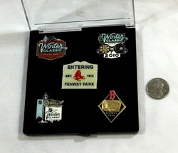 NHL 2010 Winter Classic Boston Bruins Philadelphia Flyers 5 Pin Set Fenway Park