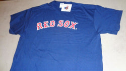 Official MLB Fenway Park Boston Red Sox Blue Basic T Shirt Size XLarge FREESHIP