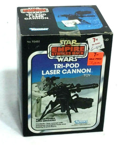 1980 Star Wars ESB Empire Strikes Back Tripod Laser Cannon Boxed Sealed MIB