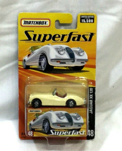 2009 Matchbox Superfast 1954 Jaguar XK120 Lesney Edition #48 New Boxed FREESHP