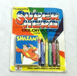1977 Russell's DC Comics Shazam Super Hero Color A Deck Card Game MOC Sealed