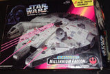 1995 Vintage Star Wars POTF Millennium Falcon Complete Boxed Instructions
