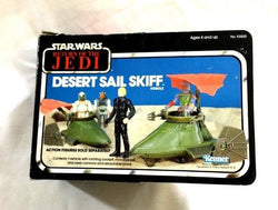 1983 Star Wars ROTJ Return of Jedi Desert Sail Skiff Boxed Complete FREESHIP