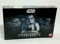 NEW Bandai Star Wars ESB ROTJ StormTrooper Plastic Model Kit Sealed 1:12 Scale