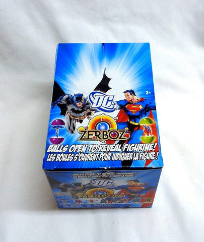 DC Comics Zerboz Heroics Series 1 Mini Figure Vendor Box 48 Pieces Sealed Balls