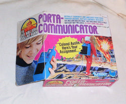1976 Kenner Six Million Dollar Man Porta Communicator Boxed New Complete FREESHP