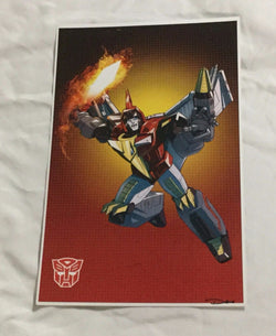 G1 Transformers Autobot Dinobot Swoop Poster 11x17 Box Art Grid FREESHIPPING