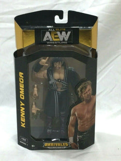AEW All Elite Wrestling Unrivaled Series Kenny Omega Figure New Boxed FREESHIP