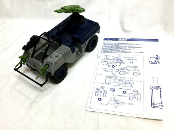 1987 Vintage GI Joe ARAH Battle Force 2000 Eliminator Complete Instructions