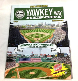 July 2014 Yawkey Way Report Red Sox Program Magazine Fenway Park Cover FREESHIP