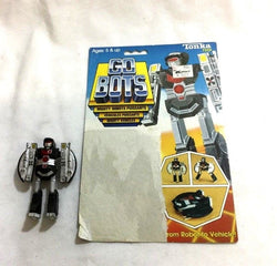 1983 Tonka Gobots Pathfinder Friendly Robot UFO Saucer Cardback Complete FREESHP