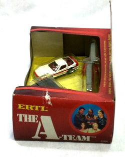 RARE 1983 Vintage Ertl Diecast A-Team 3 Pack Van Car Helicopter Boxed Sealed