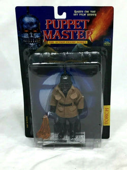 1999 Full Moon Toys Puppet Master Torch Figure Sealed MOC Carded FREESHIP