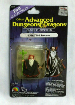 1983 LJN Advanced Dungeons And Dragons Kelek Sorcerer Mini Figure MOC Sealed