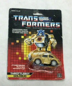 1986 Vintage G1 Transformers Autobot Goldbug MOC Sealed MISP Carded FREESHIP