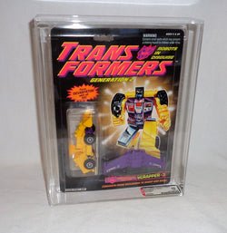 G2 Transformers Constructicon Scrapper #3 Devastator AFA 80 Carded Sealed
