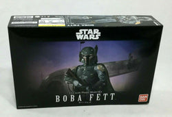 NEW Bandai Star Wars ESB ROTJ Boba Fett Plastic Model Kit Sealed 1:12 Scale